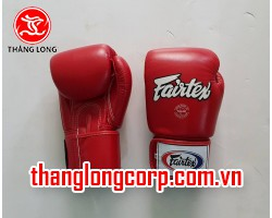 Găng Boxing Fairtex BGV-1 Đỏ size 10oz