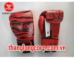 Găng Boxing Wolon Tiger Đỏ size 10oz